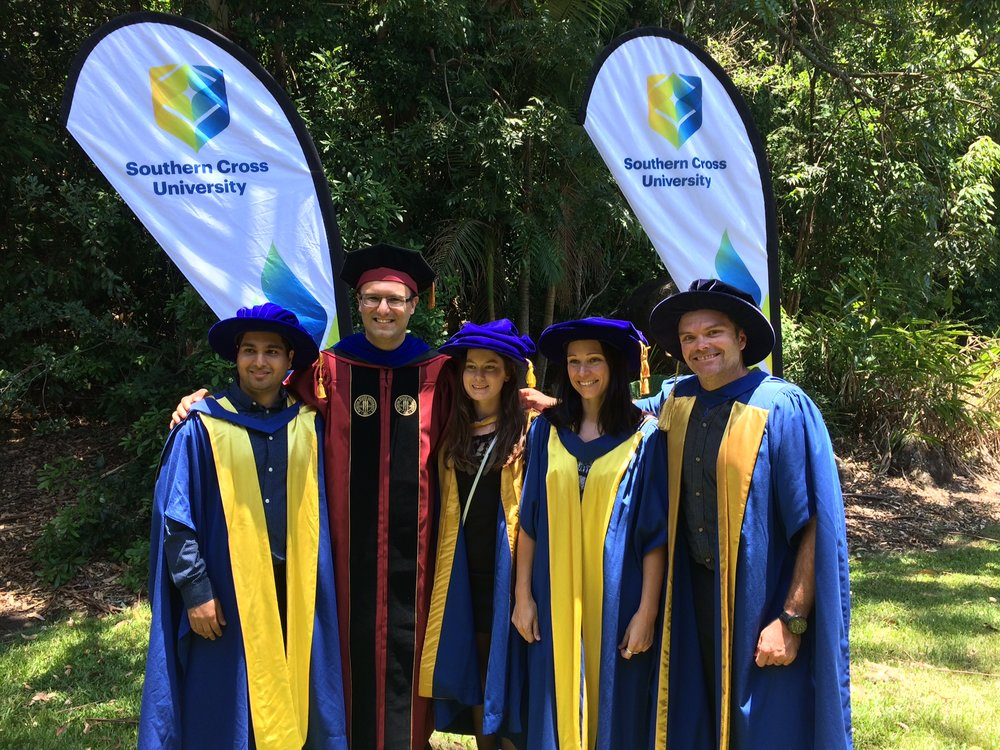 Congrats to Mahmood, Marnie  and Jackie for finishing their PhD