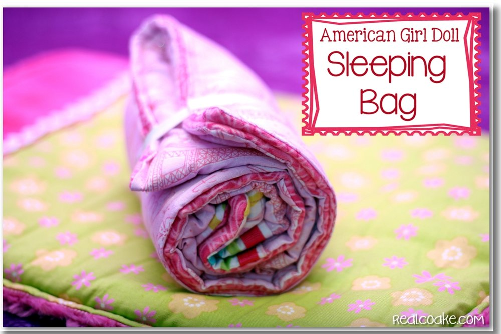 American Girl Doll Patterns {Sleeping Bag Pattern}.jpg