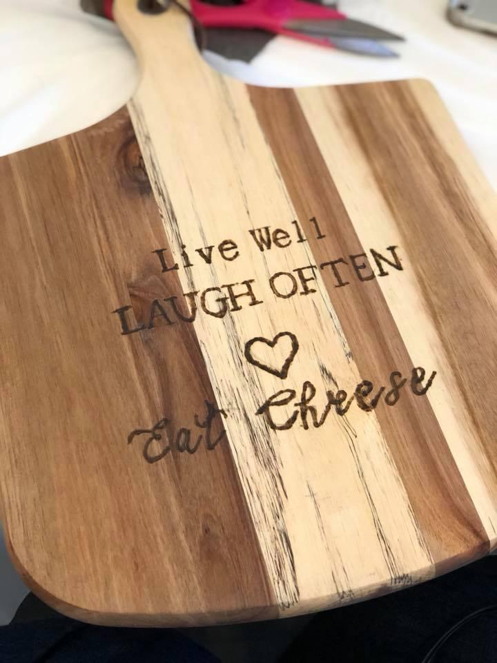 Wood Burned Cutting Board Mint Studio.jpg