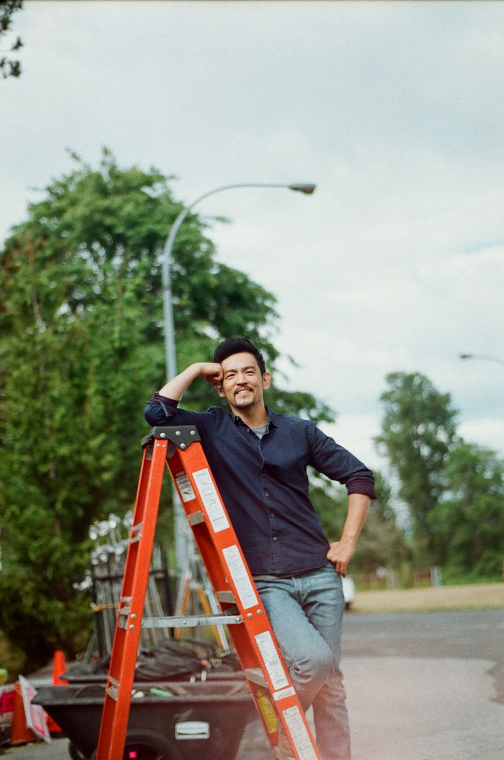 This is John Cho. He can be funny sometimes.