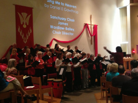 our CHOIR sings at the 9:15 Service