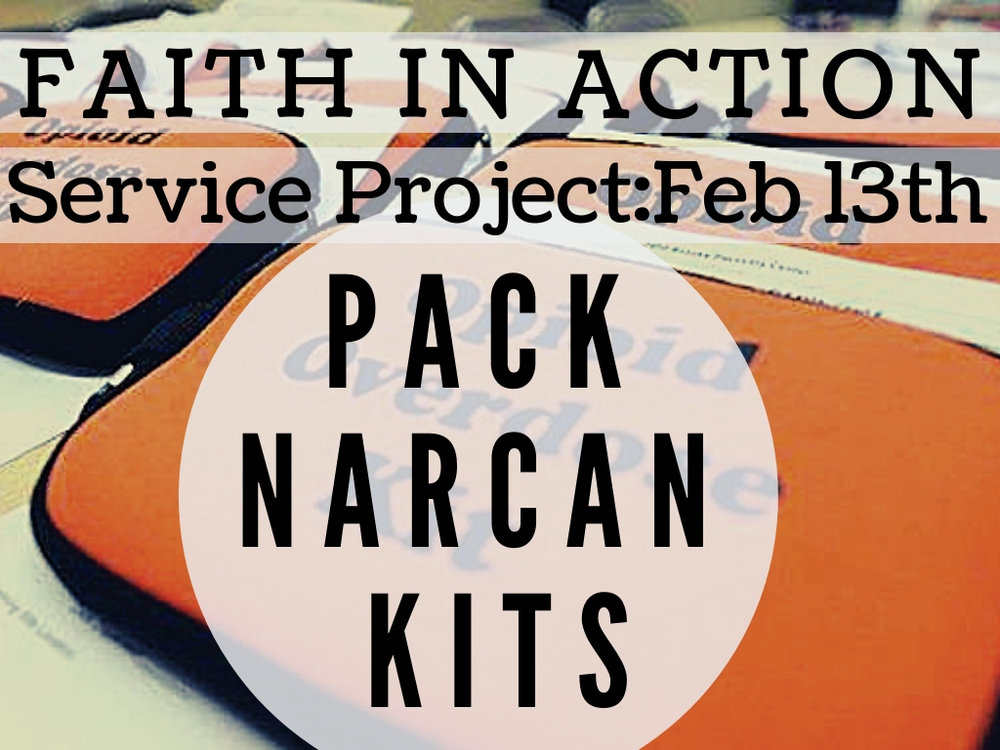 February 13th  pack narcan kits