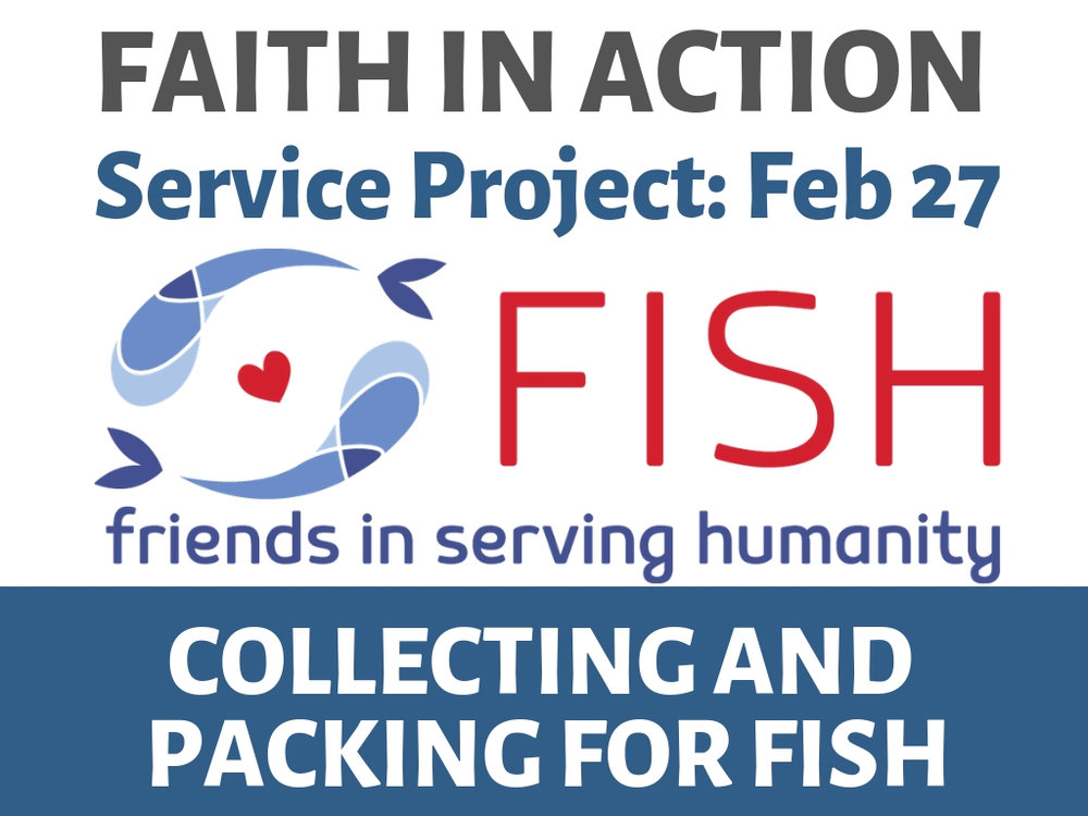 february 27th   collecting and packing food for fish