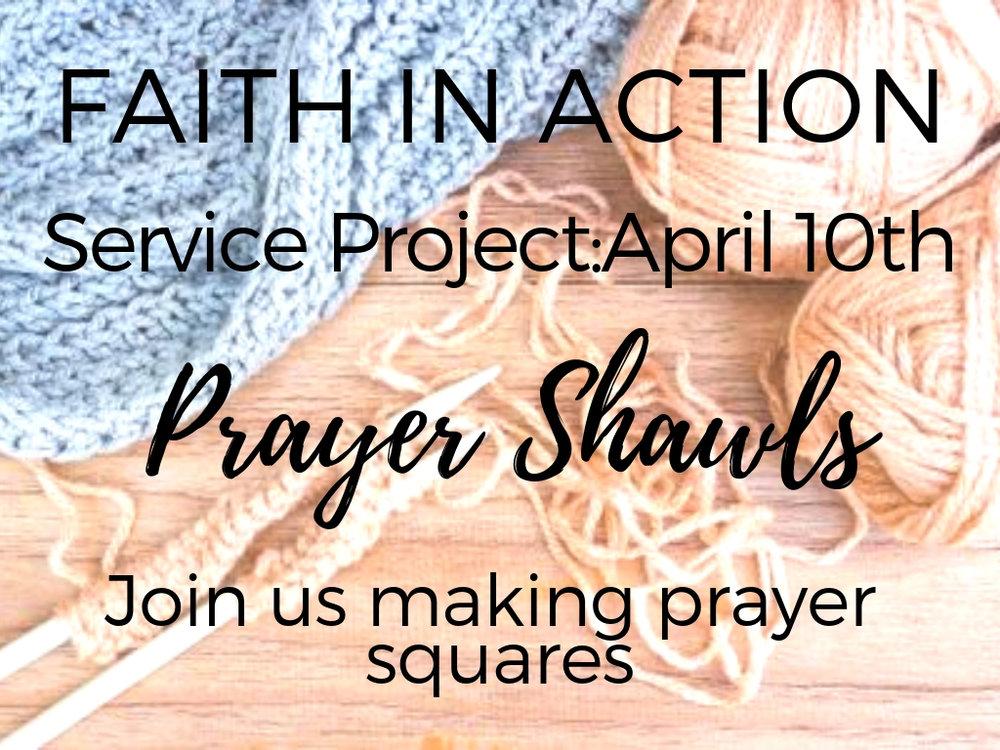 april 10th   prayer shawls