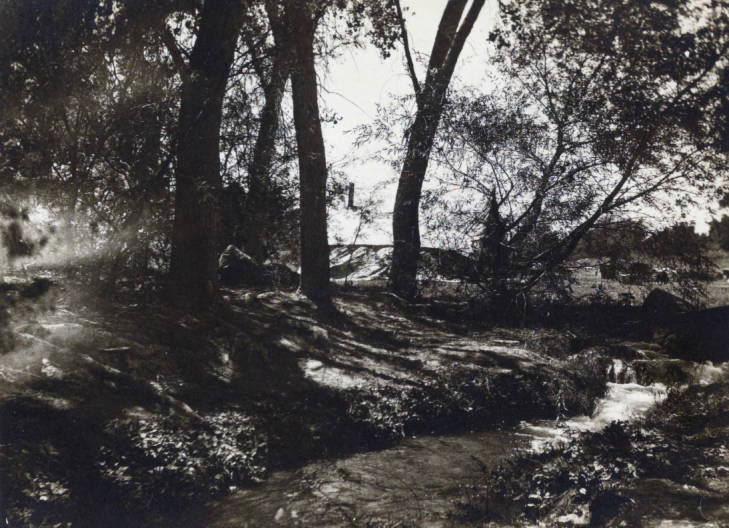 The old Las Vegas Creek at the time the Romero child went missing. (UNLV Digital Collections)