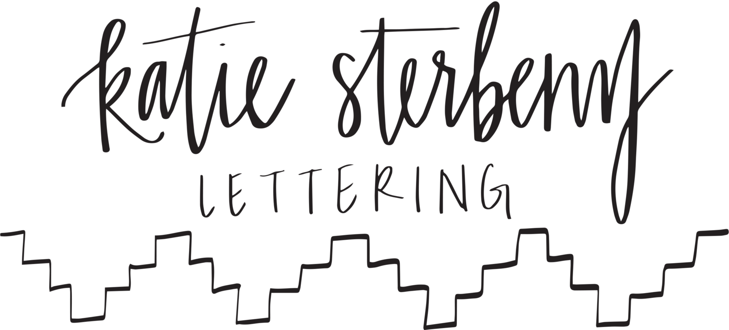KATIE STERBENZ LETTERING