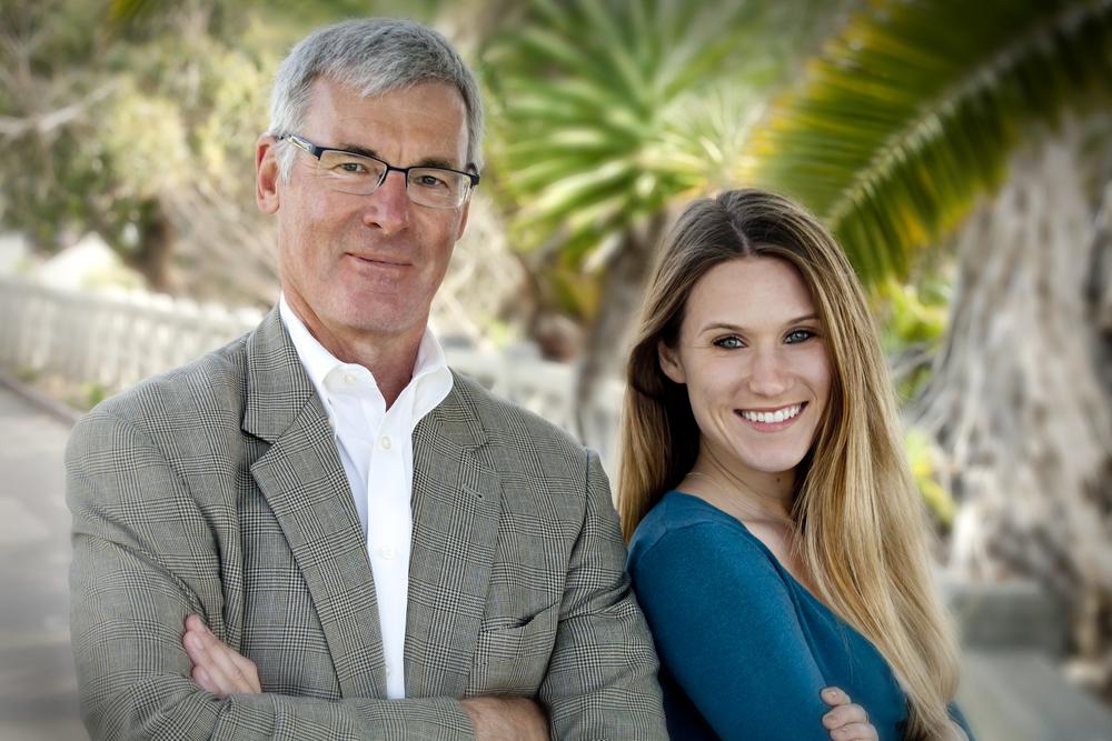 Jon Pfeiffer and Amanda Salz