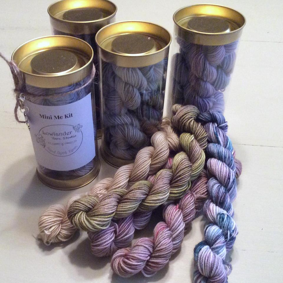Mini Me KIts - This is our mini skein kits we are working on, super excited to be bringing them to you soon