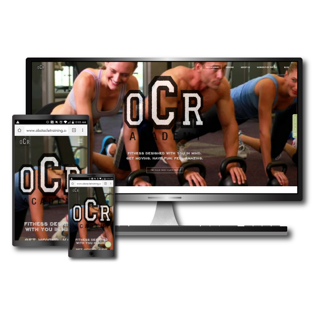 OCR Academy web design project