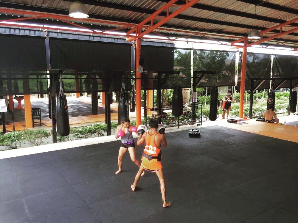 Boxing Training @ Tiger Muay Thai Training Camp