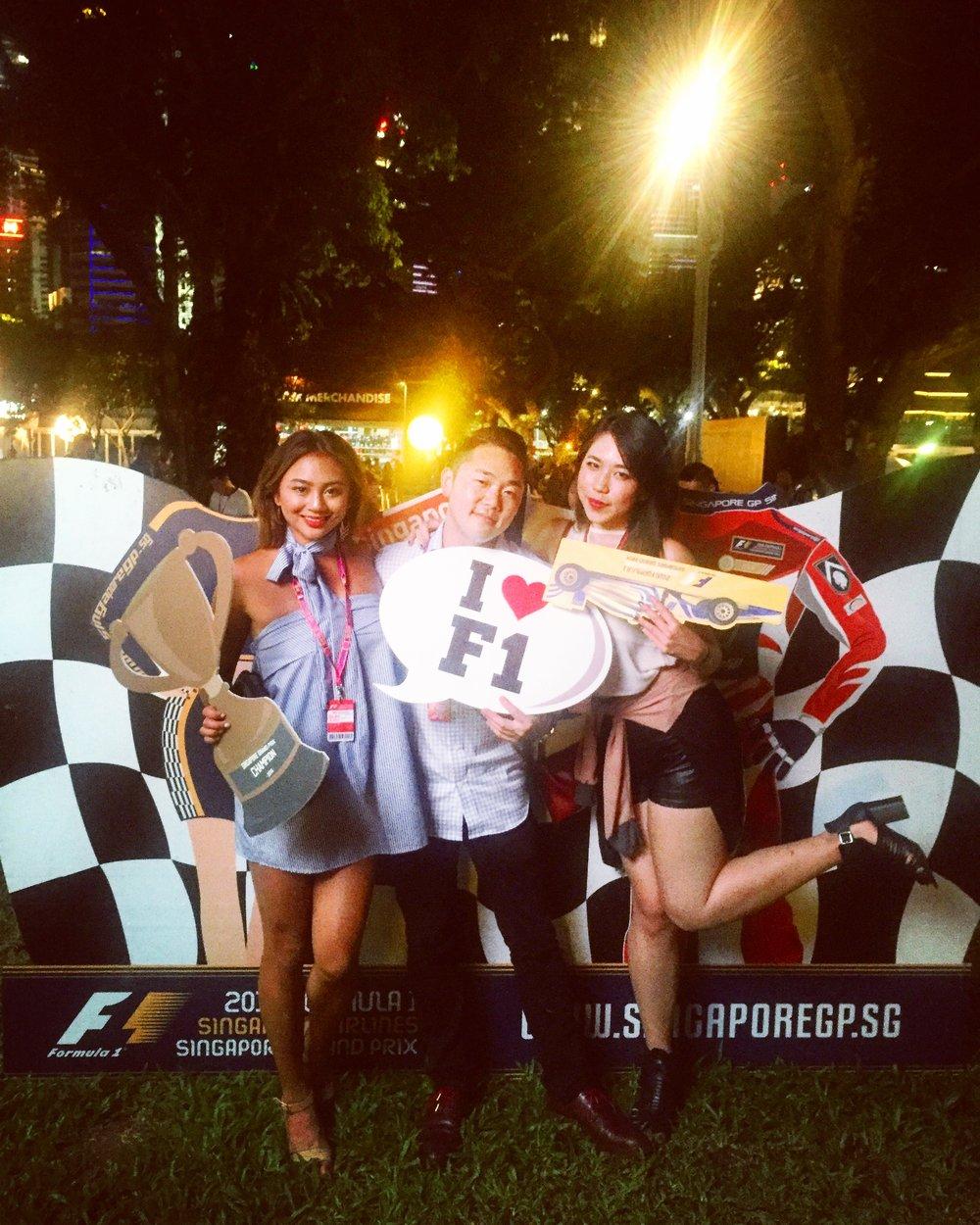 Formula 1, Singapore.