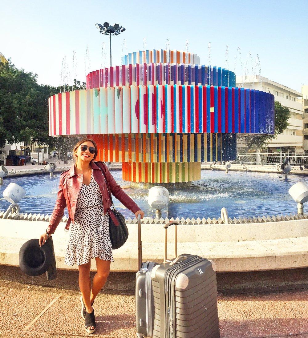 Dizengoff Fountain, Tel Aviv, Israel