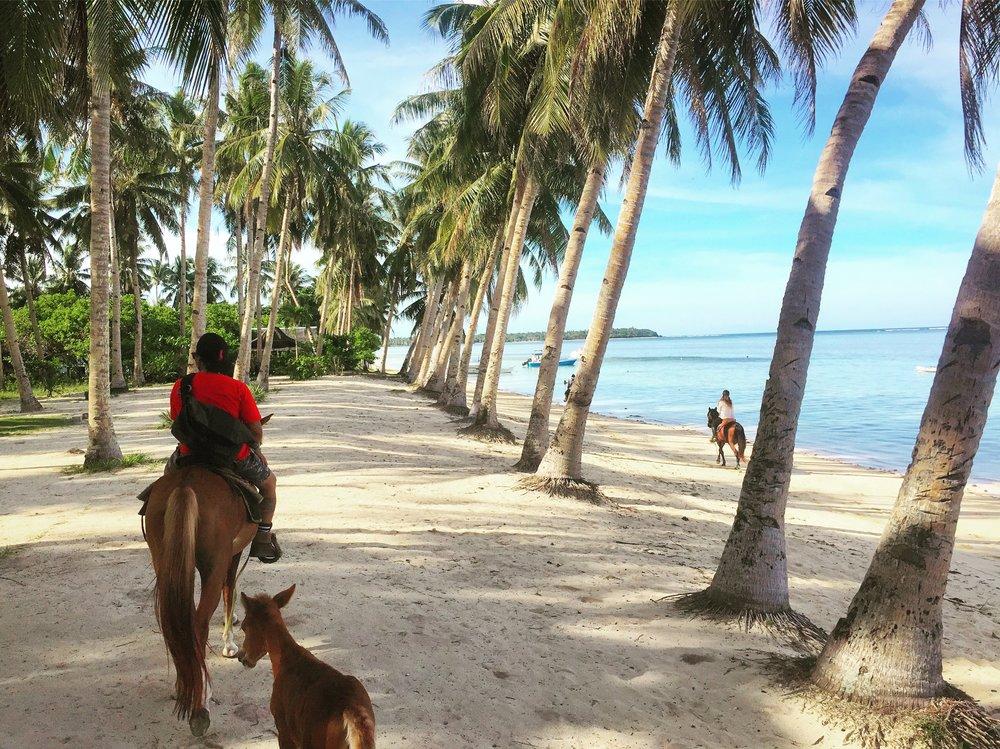 Horse Riding, Siargao, Philippines