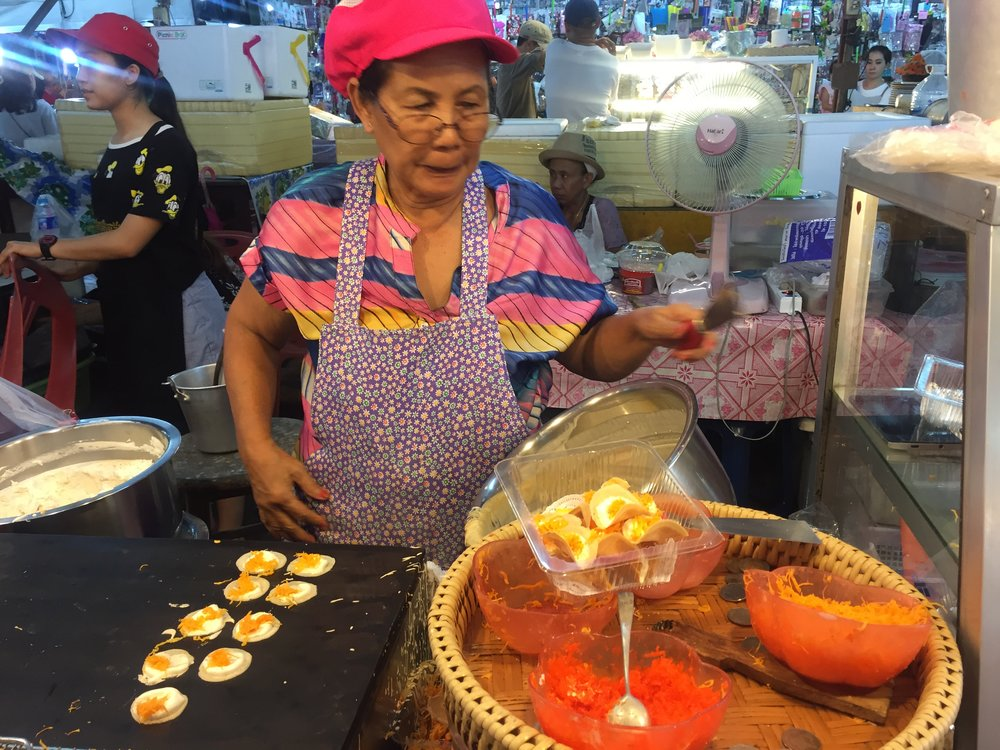 Miniature Coconut Pancakes