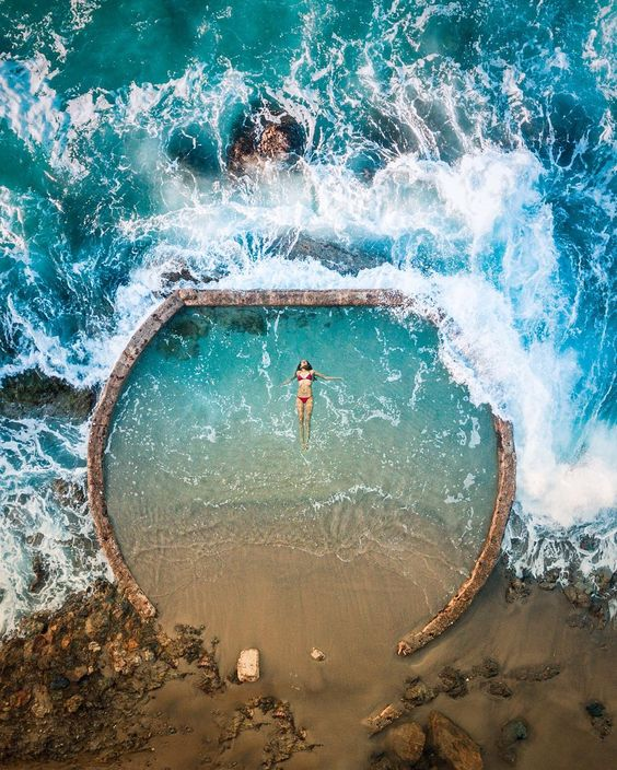 Laguna Beach Natural Pool, California