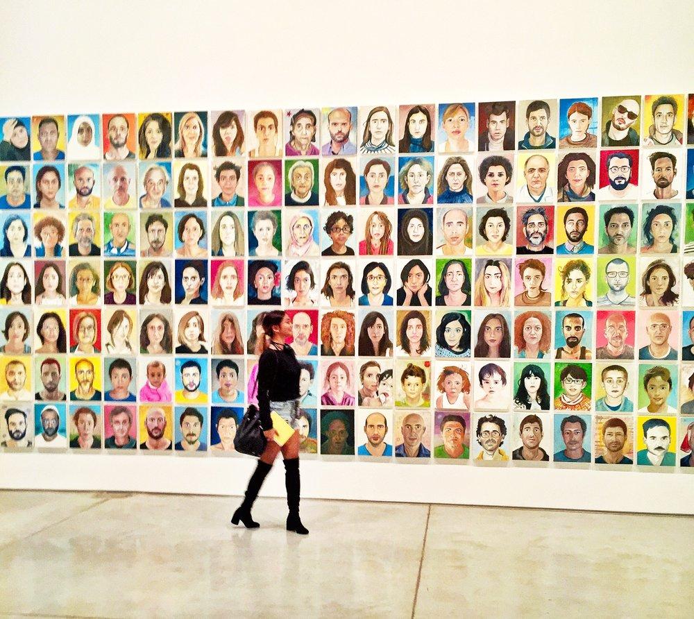 Zamir Shatz 'Habibti:Faces of Israel' @ Tel Aviv Museum of Art