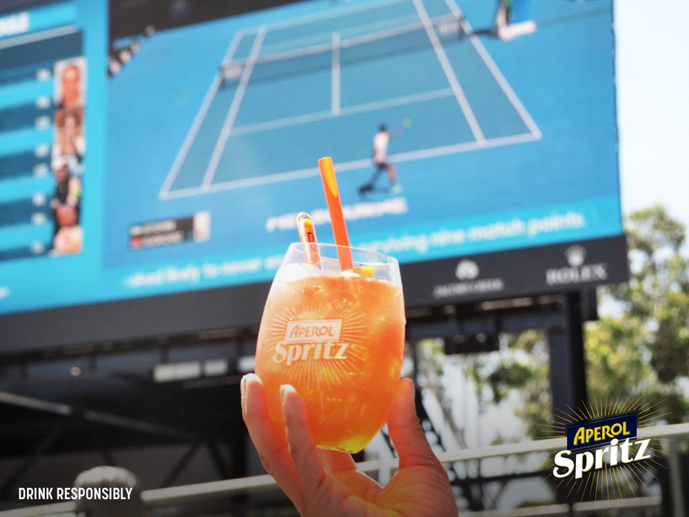 Aperol Spritz @ The Australian Open (MELBOURNE)