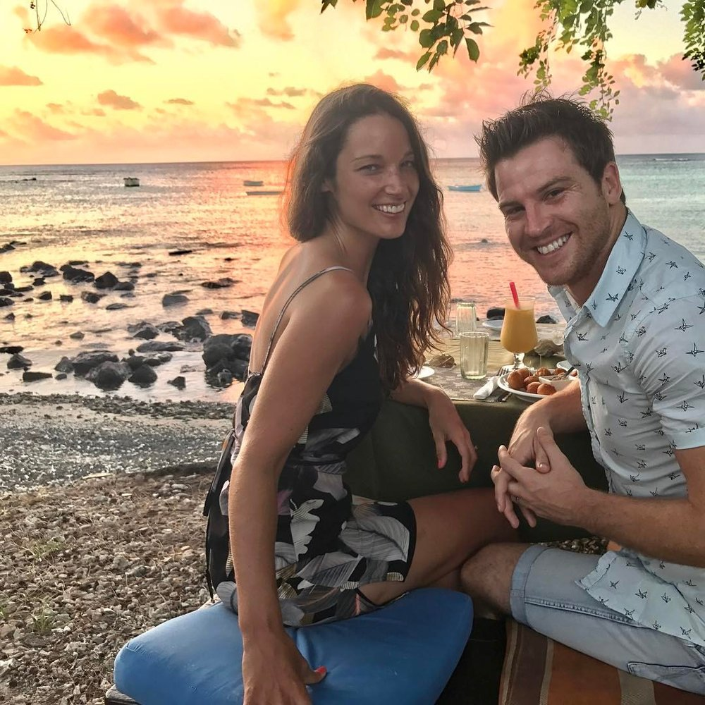 Can this couple get anymore genetically blessed?! Hacking Life: Nick and Roxy in Mauritius.