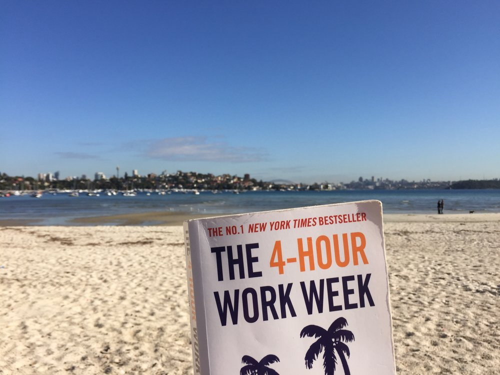 June 2015: I remember reading this book at Rose Bay beach, when I was in between jobs. After reading it, I decided to find another source of income (independent of my physical location)... to ultimately try digital nomad life!