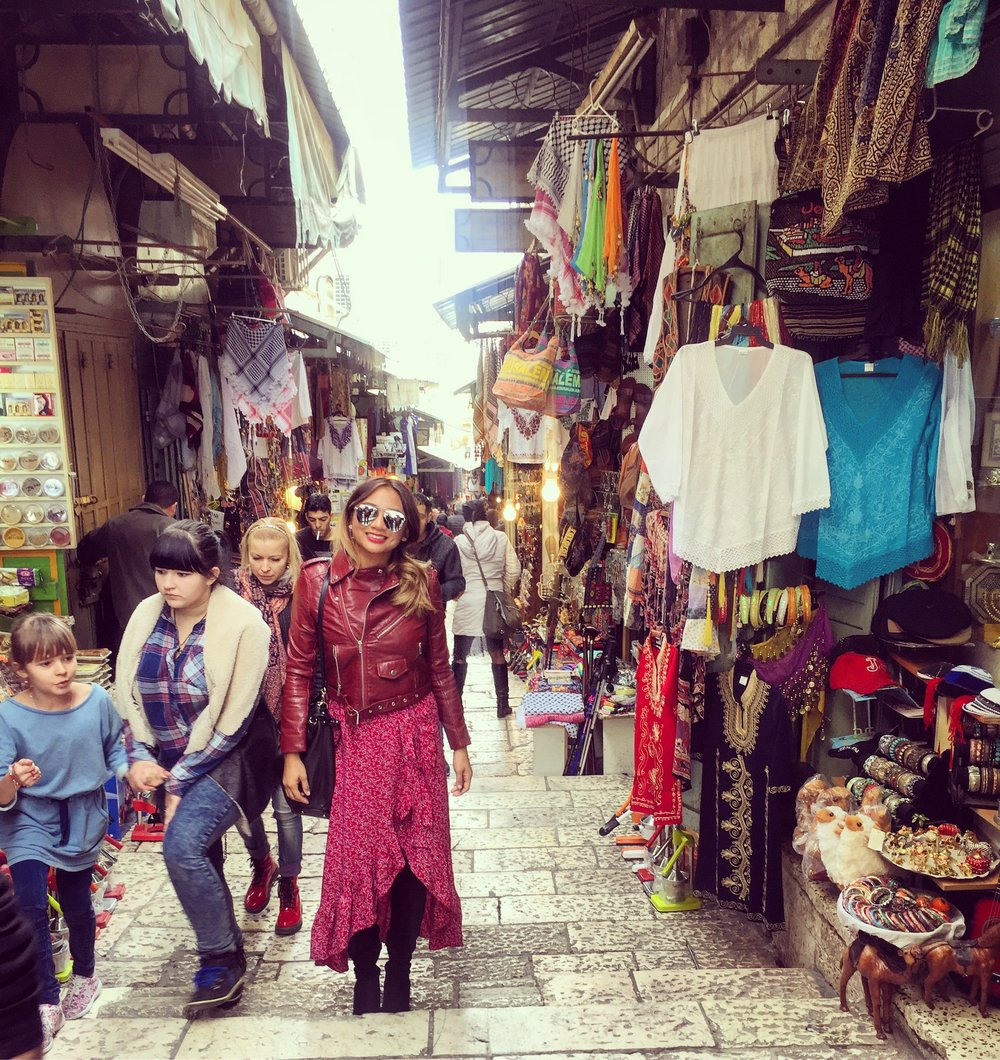 Markets in Jerusalem, Israel