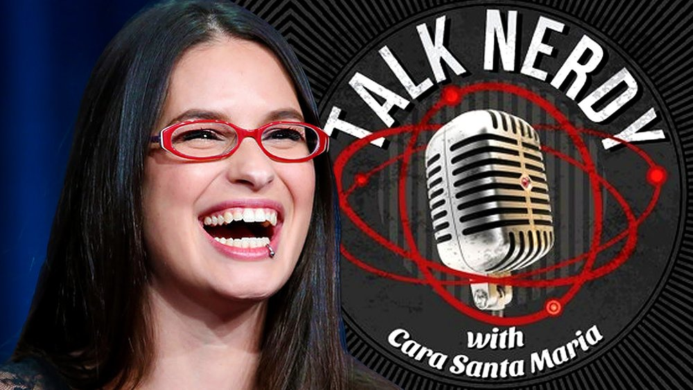 Listen to her podcast Talk Nerdy  here .