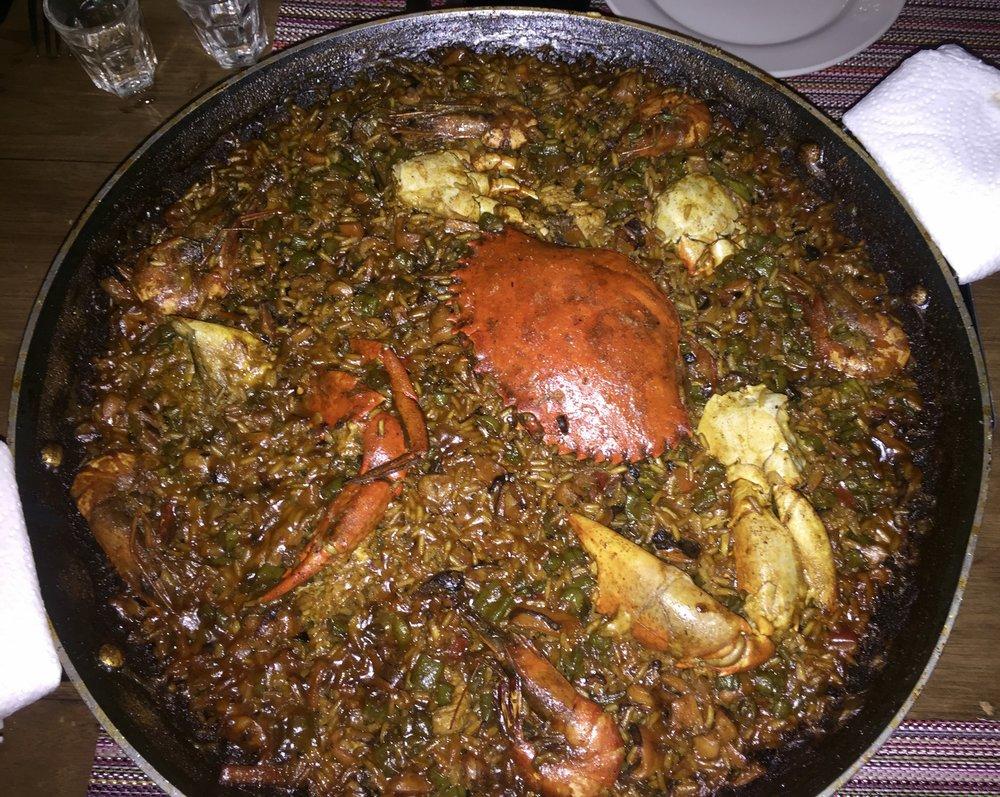 Seafood Paella @ Bravo