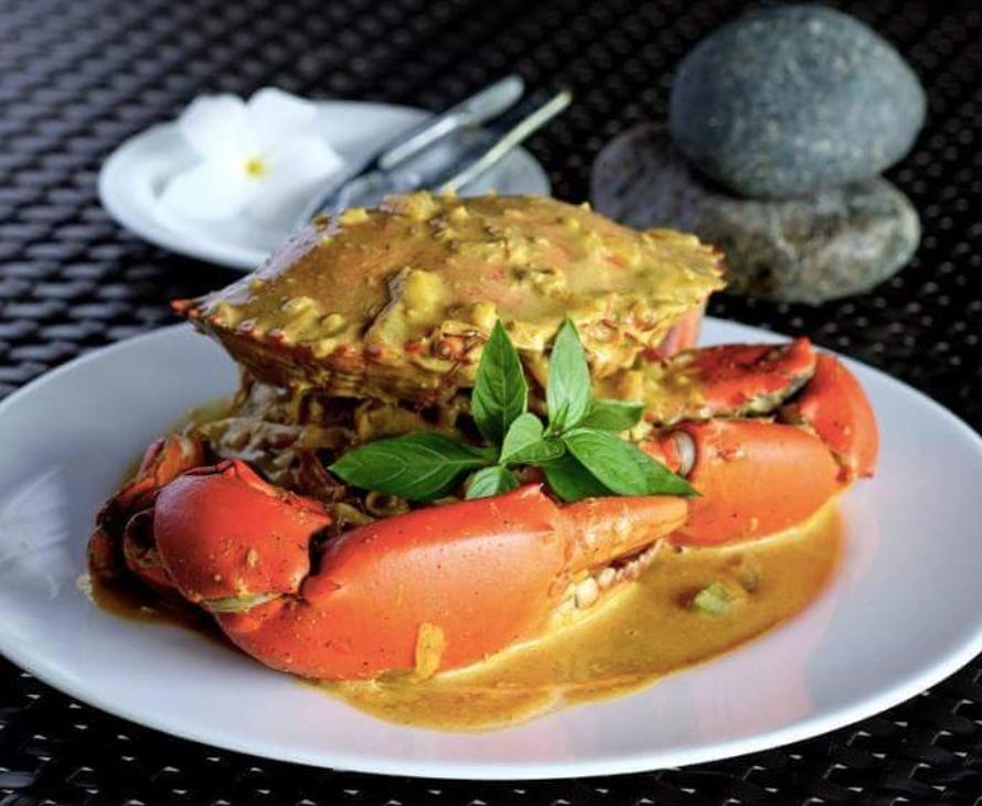 Coconut crabs @ Siargao Bleu