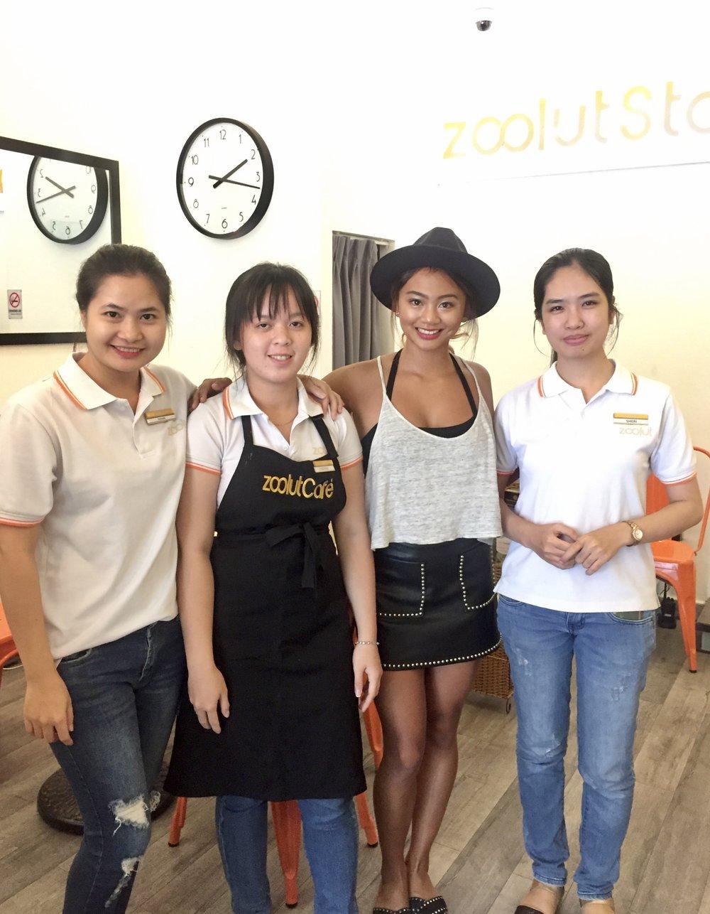 Mahhh ladies @ Zoolut Stay 271, Ho Chi Minh, Vietnam.
