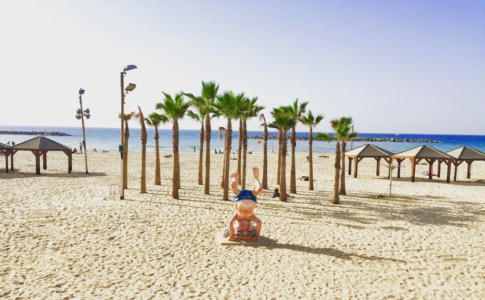 Ben Gurion Statue, Gordon Beach