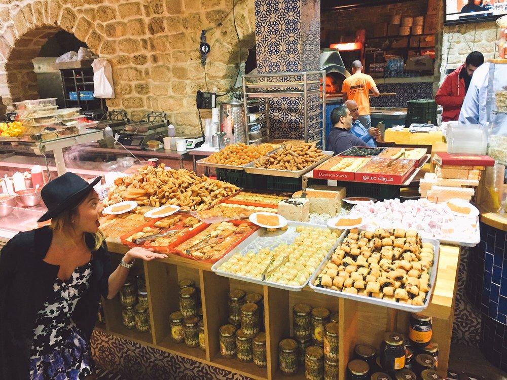 Baklava in Old Jaffa