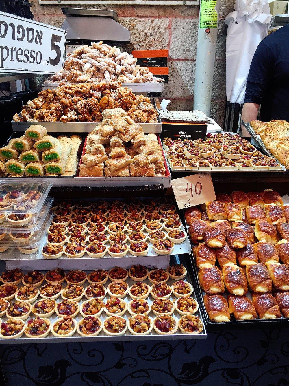 Pastries @ Machane Yehuda