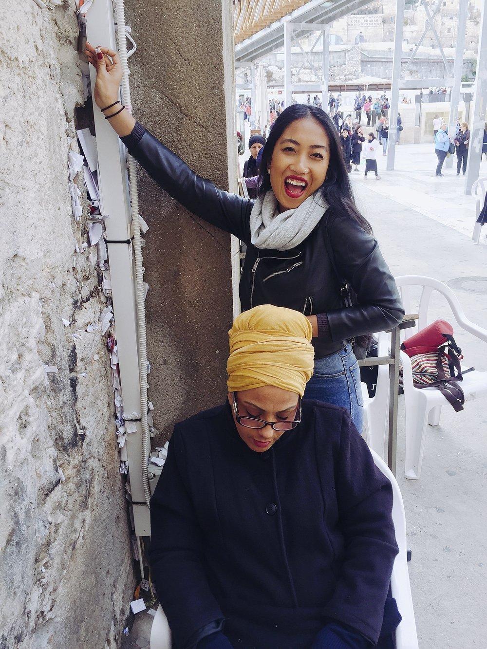 My Israeli Filipino Sister Making Her Wish!