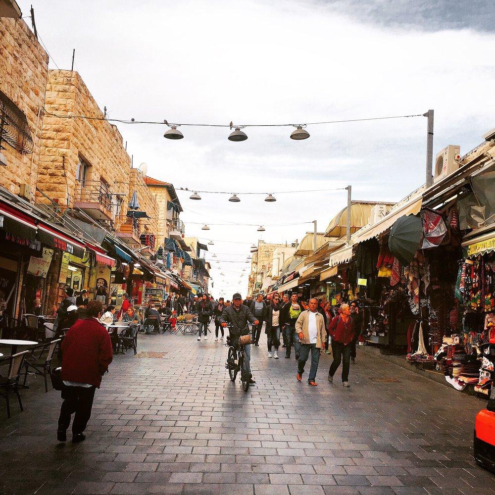Machane Yehuda Markets