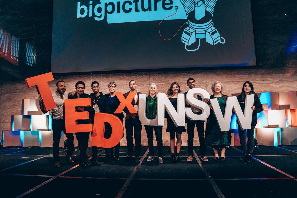 Speakers of TEDx UNSW 2017.