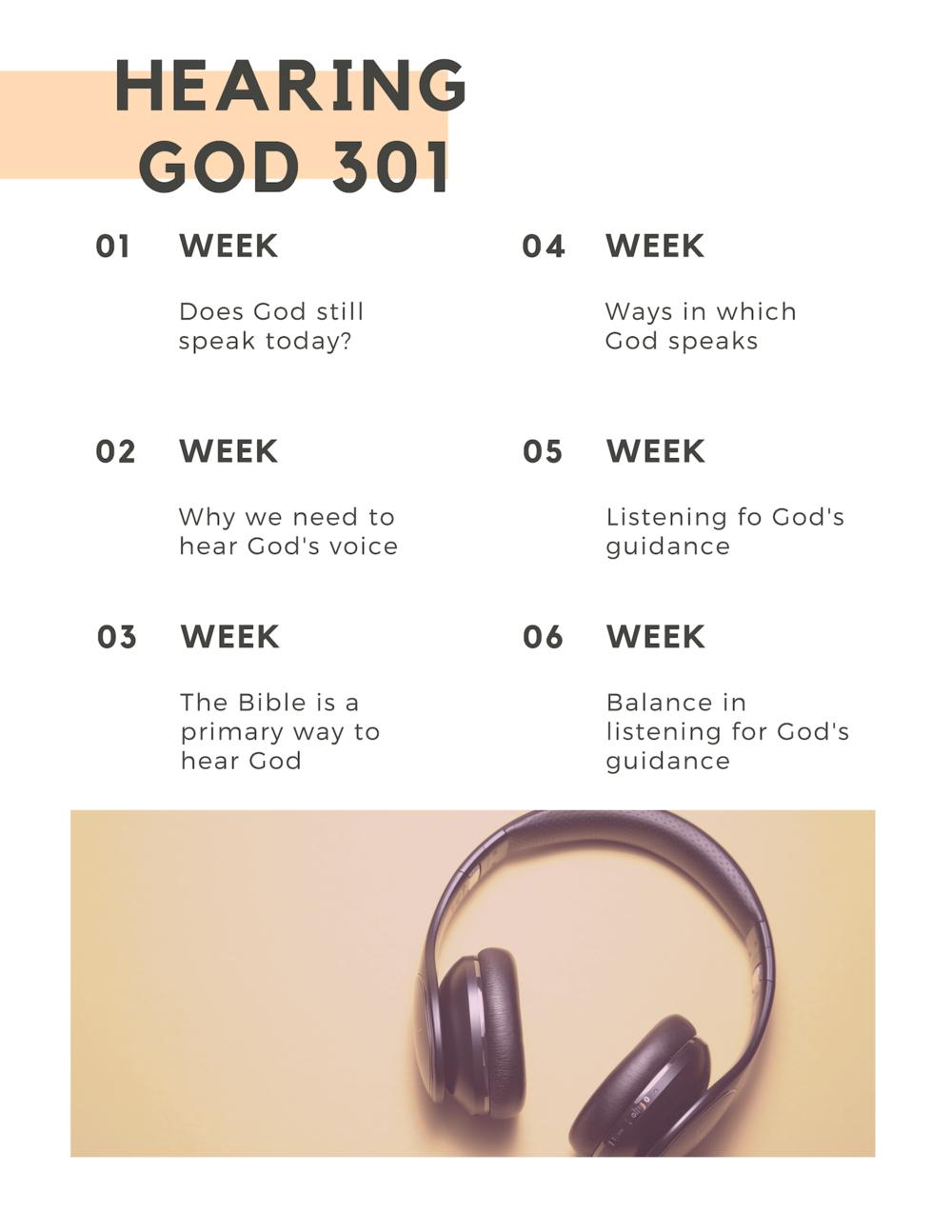 Hearing God 301