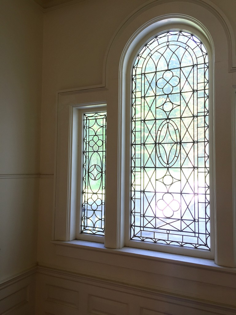 Antique leaded glass