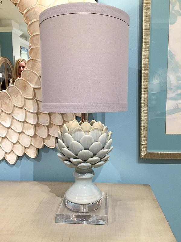 Bassett Mirror Company, artichoke design, High Point Trends