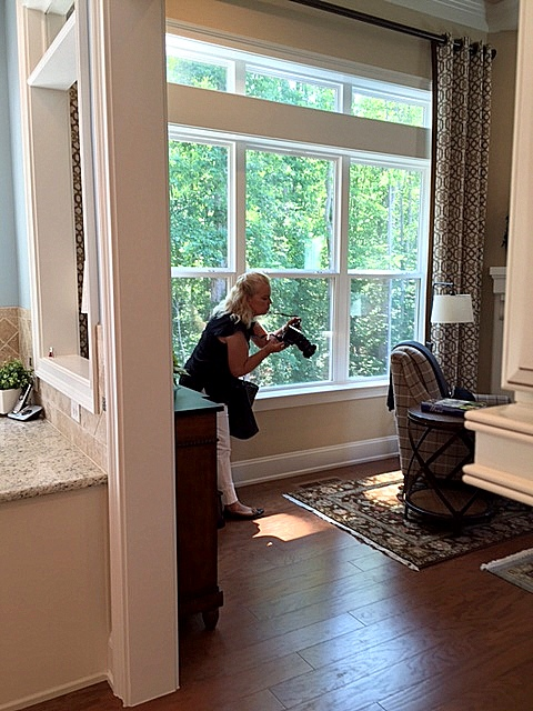 behind the scenes, Chapel Hill interior designer