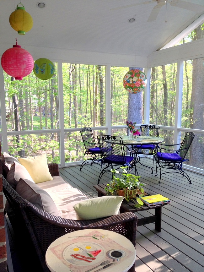 paper lanterns, pier one, outdoor lighting, party lights, japanese lanterns, outdoor entertaining, interior design apex