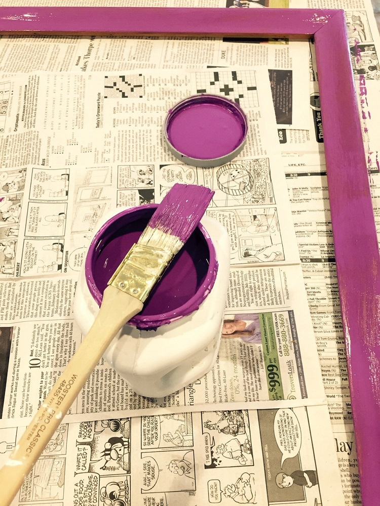 purple, magenta, pink, paint project