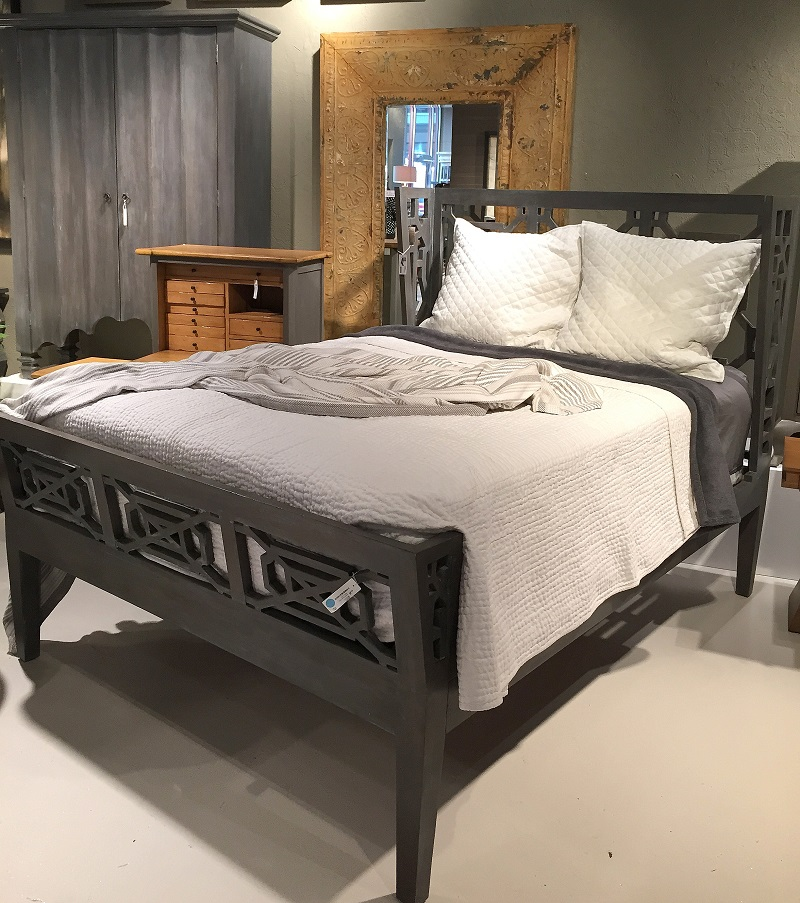 Guildmaster at High Point, Guildmaster bed, wood headboard, wood footboard, bedroom design