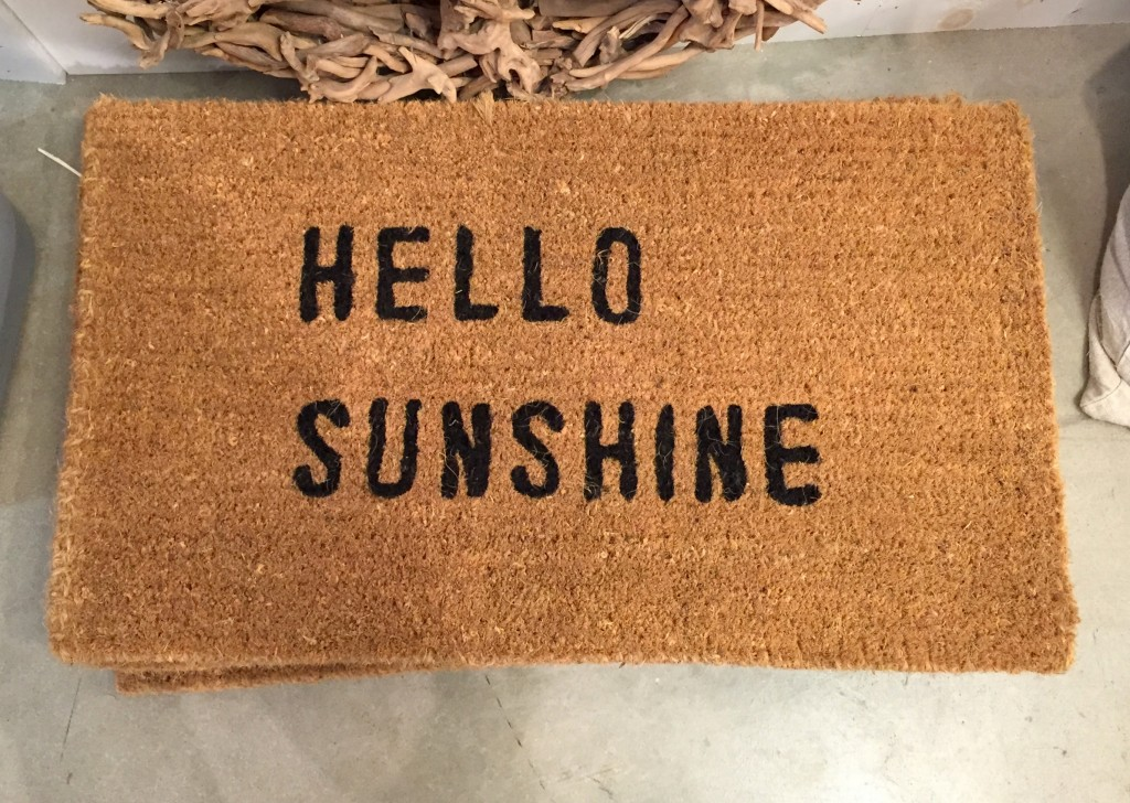 door mat, friendly doormat