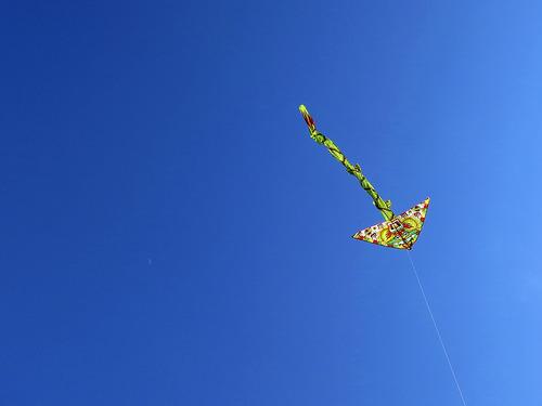 kite, sky, freedom