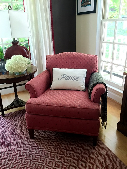how to give an old chair a new look