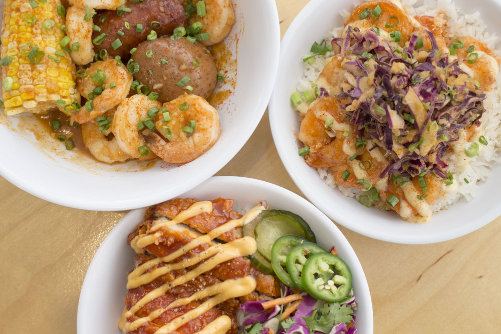 Build Your Own (10+ guests) - Let your guests, clients, or party-goers build their own delicious sandwiches or bowls! First, choose what style — bowl, sandwich, or a combination of both. Then, pick a protein, vegetables, or a mix of both, from the menu and tell us how many people you're feeding. We'll whip up a build that's just right for your group.Starts at $7-$10/person. Service charge/Utensil fee not included.