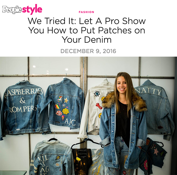 Unemployed Denim featured on People Style