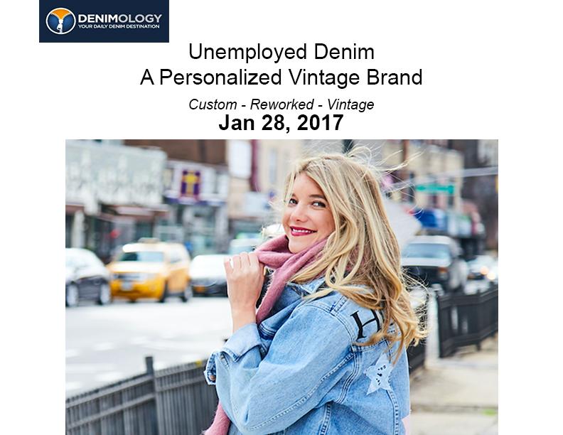 unemployed denim featured on YOUR DAILY DENIM DESTINATION, denimology