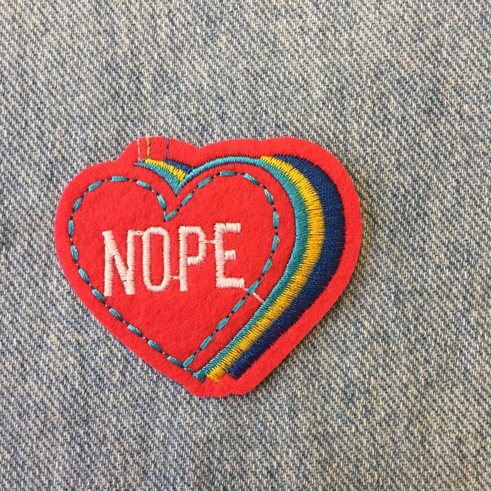 NOPE HEART
