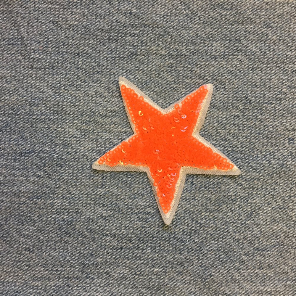 ORANGE STAR - SOLD OUT
