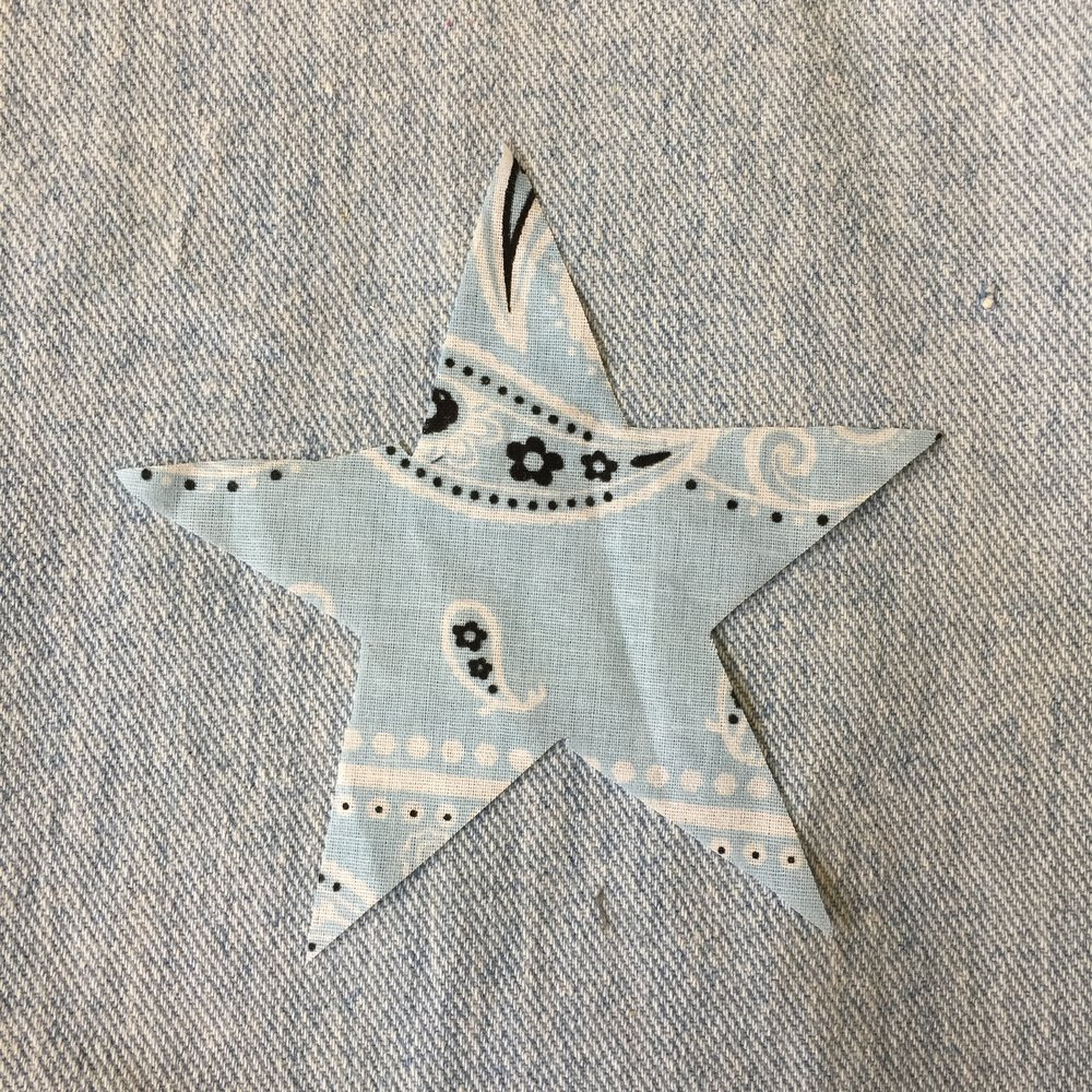LIGHT BLUE STAR